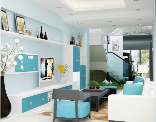 Cách chọn màu sơn tường phòng khách hiện đại